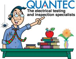 QUANTEC The electrical testing and inspection specialists
